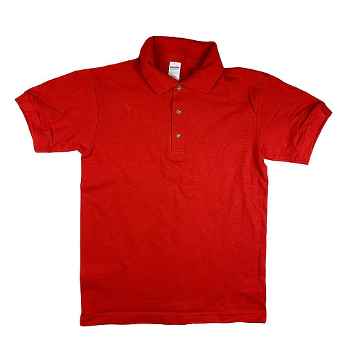 Men Irregular Pique Sportshirt
