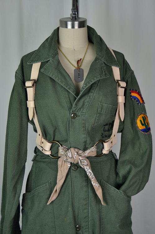 Rank & Sugar x Hunker Bag Co. Harness Belt - Natural