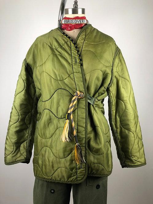 Hand Beaded Liner Jacket