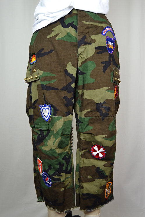 All Patched Up Camo Pants