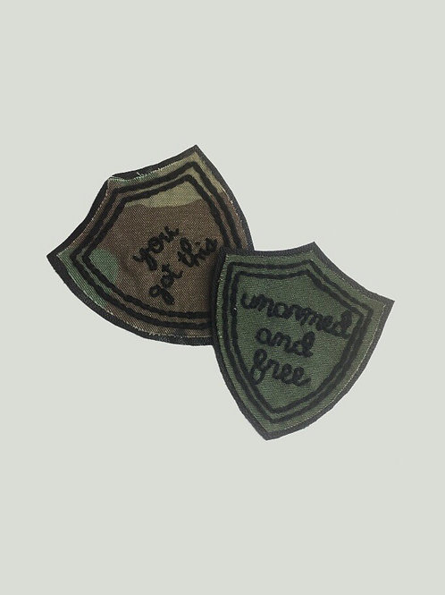 Embroidered Badge Pin