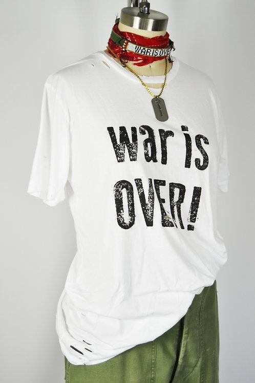 """""""War is Over"""" Tee"""