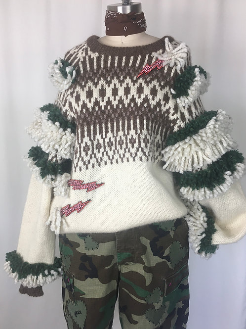 One Thousand Knot Sweater