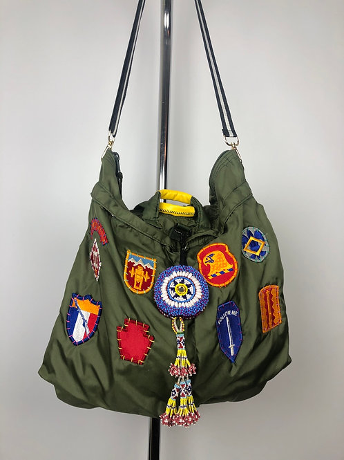 All Patched Up Helmet Bag
