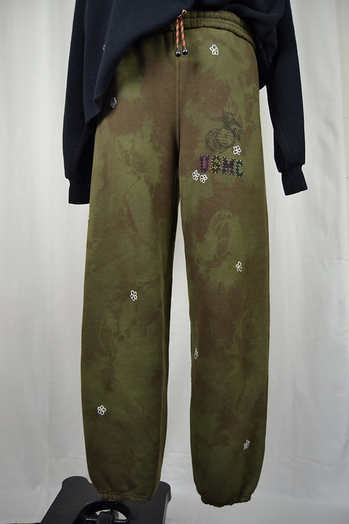 Flower Power Tie Dye Sweats