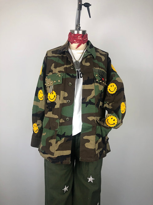 Good Vibes Camo Jungle Jacket