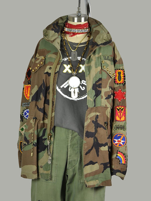 All Patched Up Camo M65 Jacket