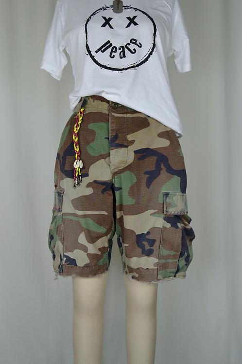 Camo Utility Shorts