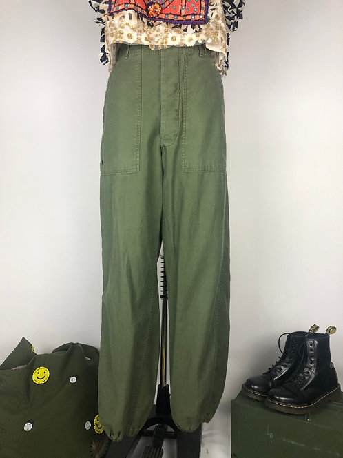 Cinched Utility Pants 30""