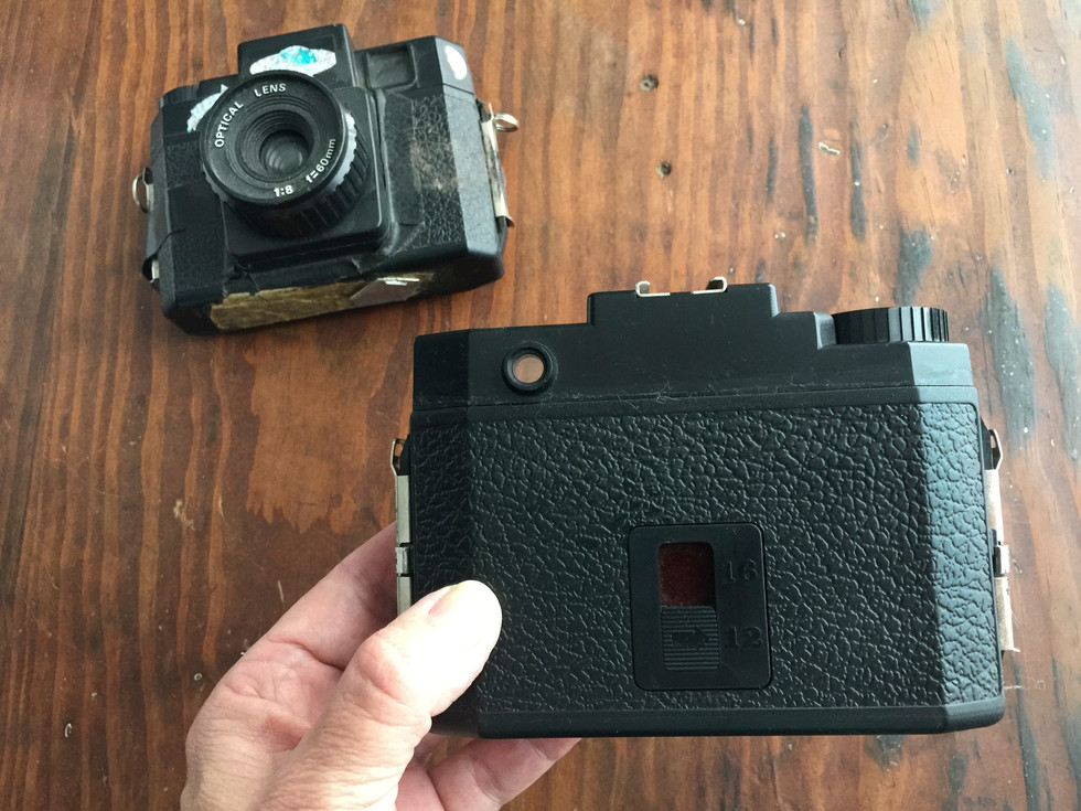 I don't miss all the black tape I had to put on the body and the back and the film counter... fussy. I was never a fan of light leaks so I attempted to control them!
