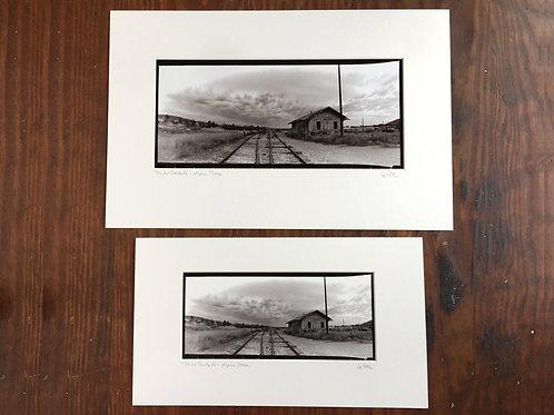 Inkjet reproduction Horizon panoramic print