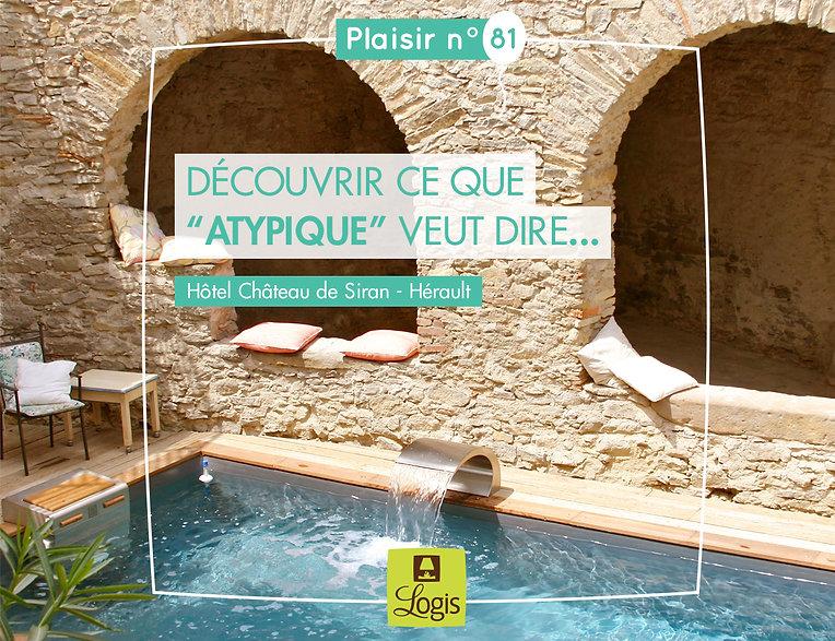 Logis de France. Post Facebook by Estelle Kalifa.