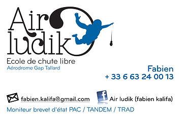 Air ludik. Logo et carte by Estelle Kalifa graphiste freelance.