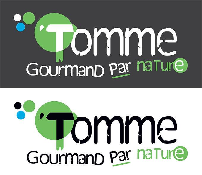 Tomme, restaurant. Logo by Estelle Kalifa graphiste freelance.