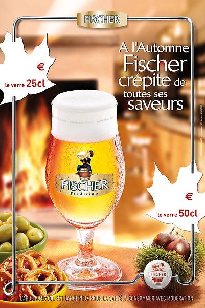 Fischer. PLV bar by Estelle Kalifa.