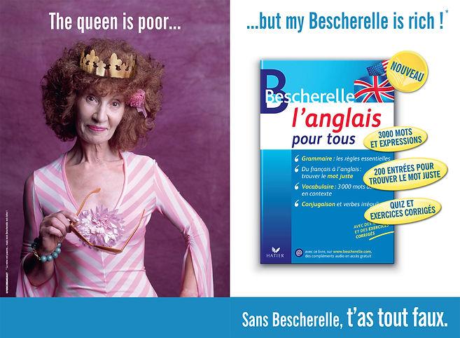 Bescherelle. Affichage by Estelle Kalifa.