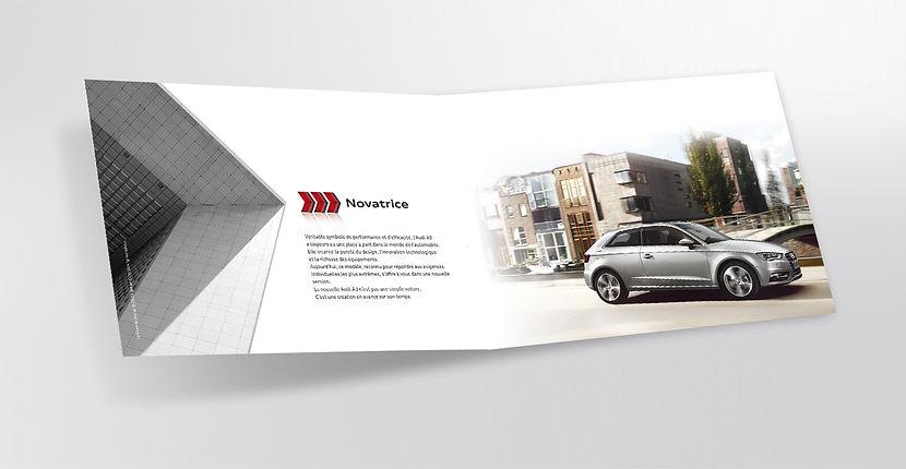 Audi. Plaquette by Estelle Kalifa.