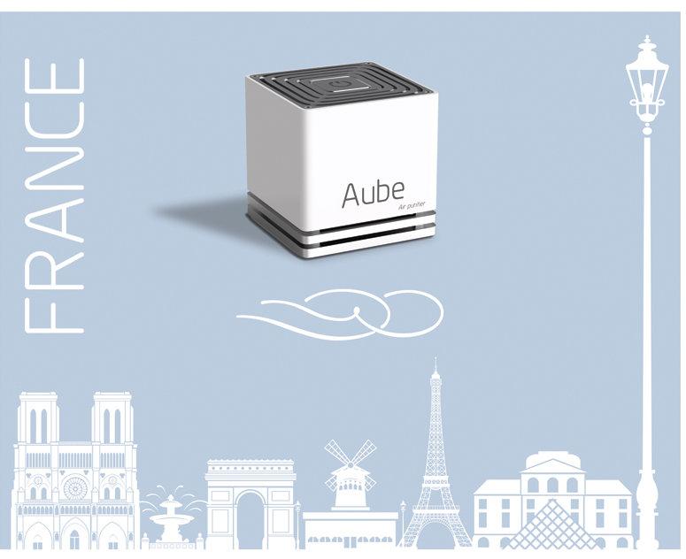 Aykow. Panneau Aube by Estelle Kalifa graphiste freelance.