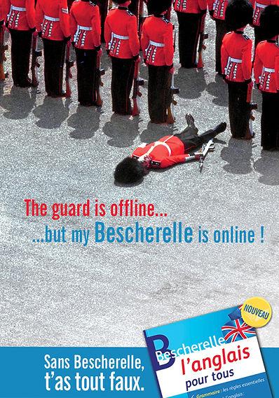 Bescherelle. Carte postale by Estelle Kalifa.