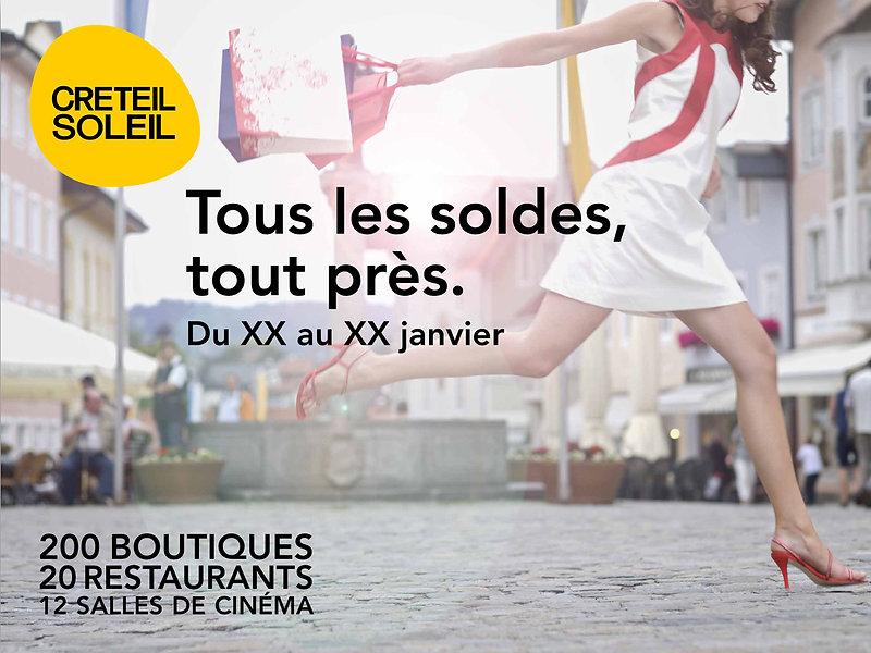Créteil Soleil. Affiche by Estelle Kalifa.