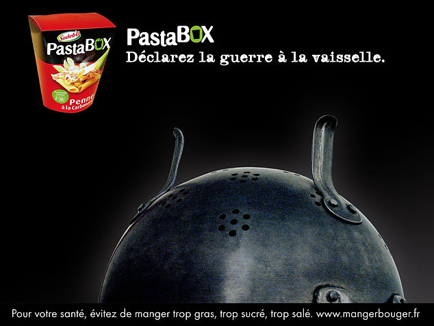 Sodebo, Pasta Box. Affiche by Estelle Kalifa.