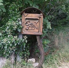 boite aux lettres, Pol sculpteur