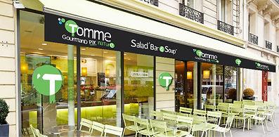 Tomme, restaurant. Déco vitrine by Estelle Kalifa.