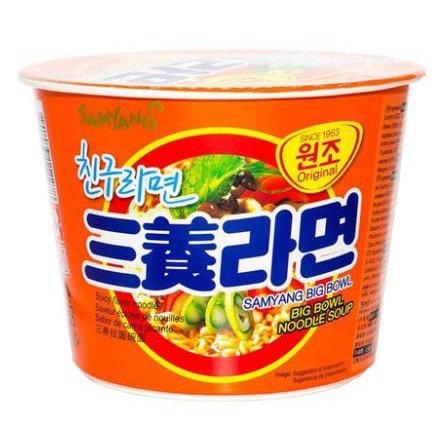 Big bowl noodle soup ramen samyang