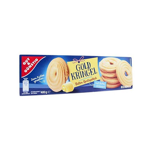 Butter Biscuits Gold Curls