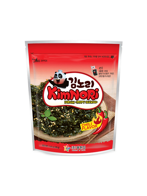 Chili flavor crispy seaweed kimnori