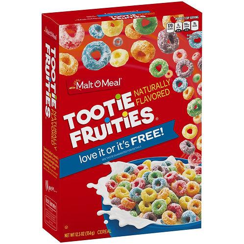 Tootie Fruities Cereal