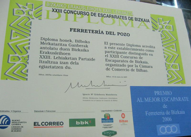 Ferreterías de Bilbao
