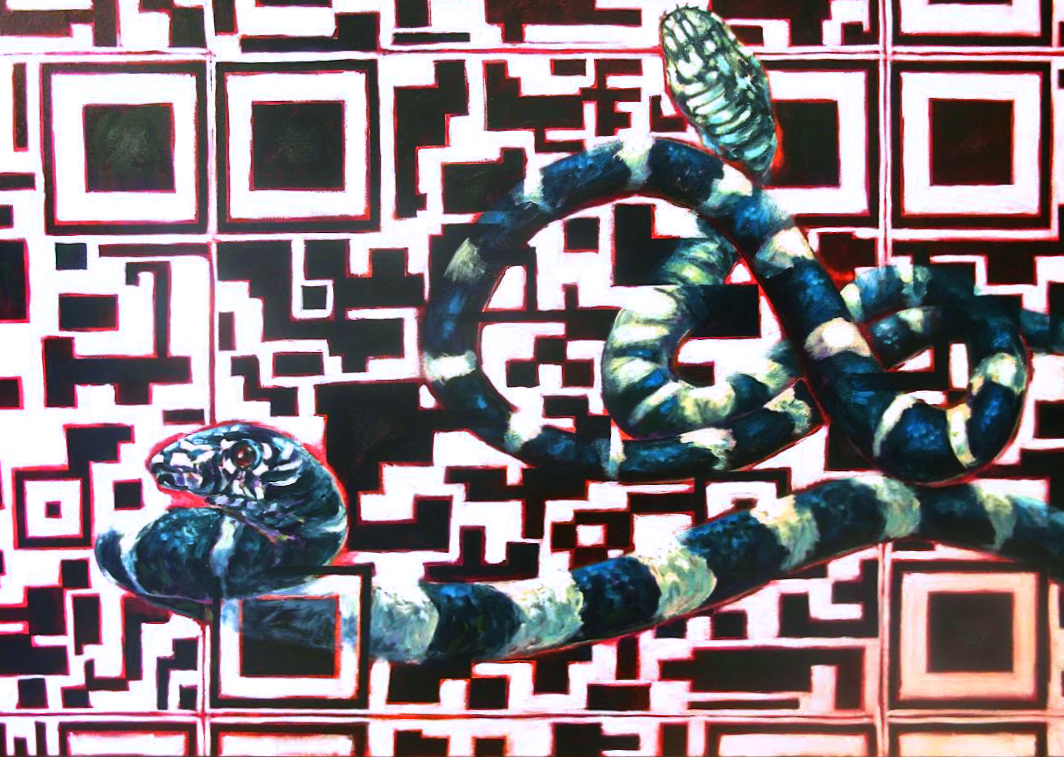 Nature/QR Code IV (Snakes)