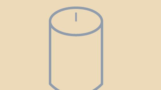 Medium Straight Sided Jar Candle