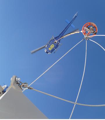 Remote Communication Tower Installation
