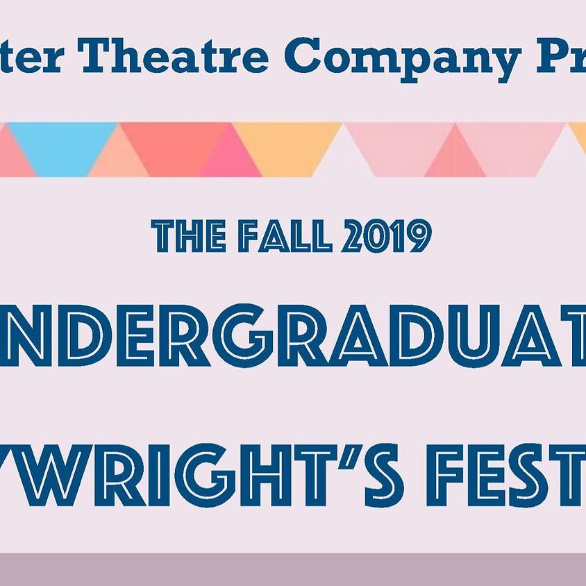 Undergraduate Playwright's Festival
