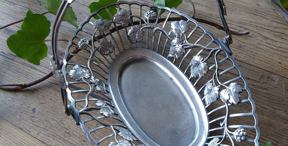Silver-plated WMF basket