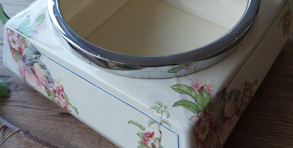 Coronet Ware Bowl with Bird Design