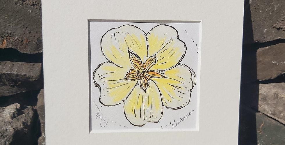 Spring - Original miniprint
