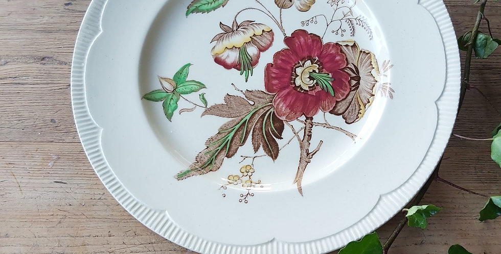 Clarice Cliff floral plate