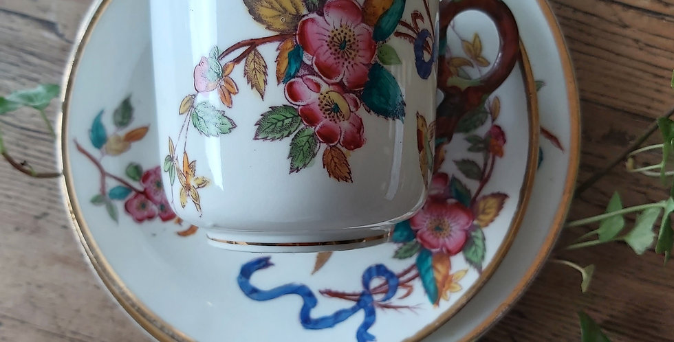Aesthetic Movement Trio of Cup, Saucer & Tea Plate