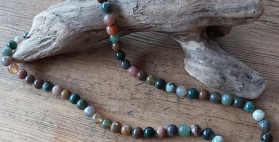 'Galloway' agate beads