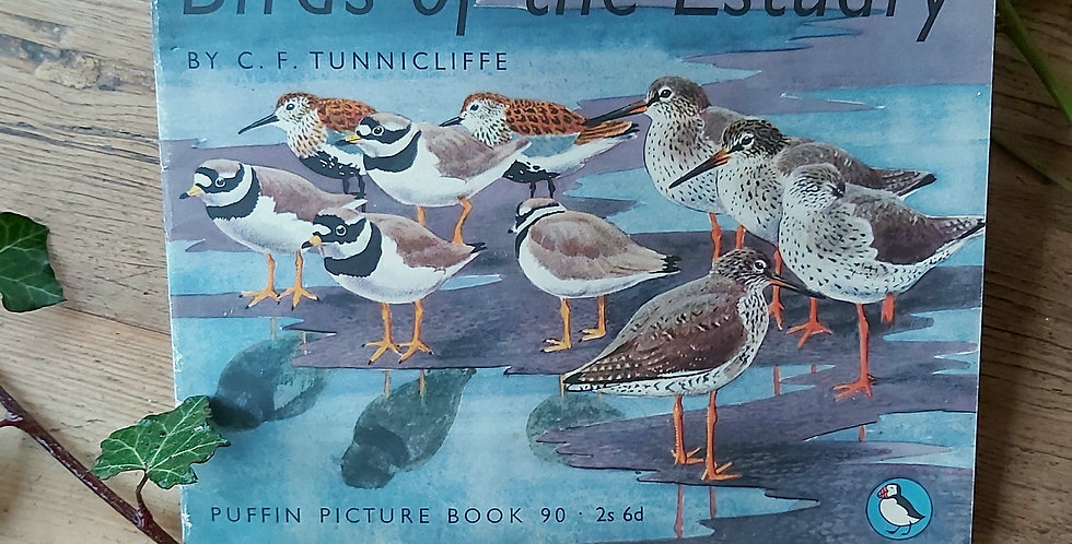 Birds of the Estuary - C.F. Tunnicliffe
