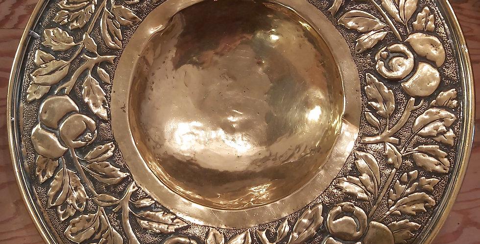 Brass Arts & Crafts decorative bowl