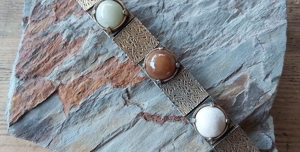 Miracle Agate Vintage Bracelet