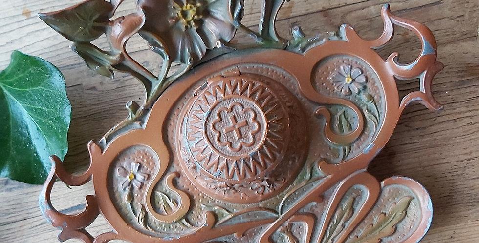 Antique Austrian Art Nouveau Inkwell