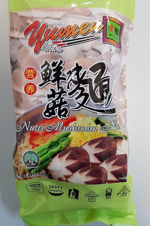干鲜菇面 Dried Mushroom Noodles