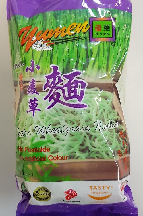 干小麦草面  Dried Wheatgrass Noodles