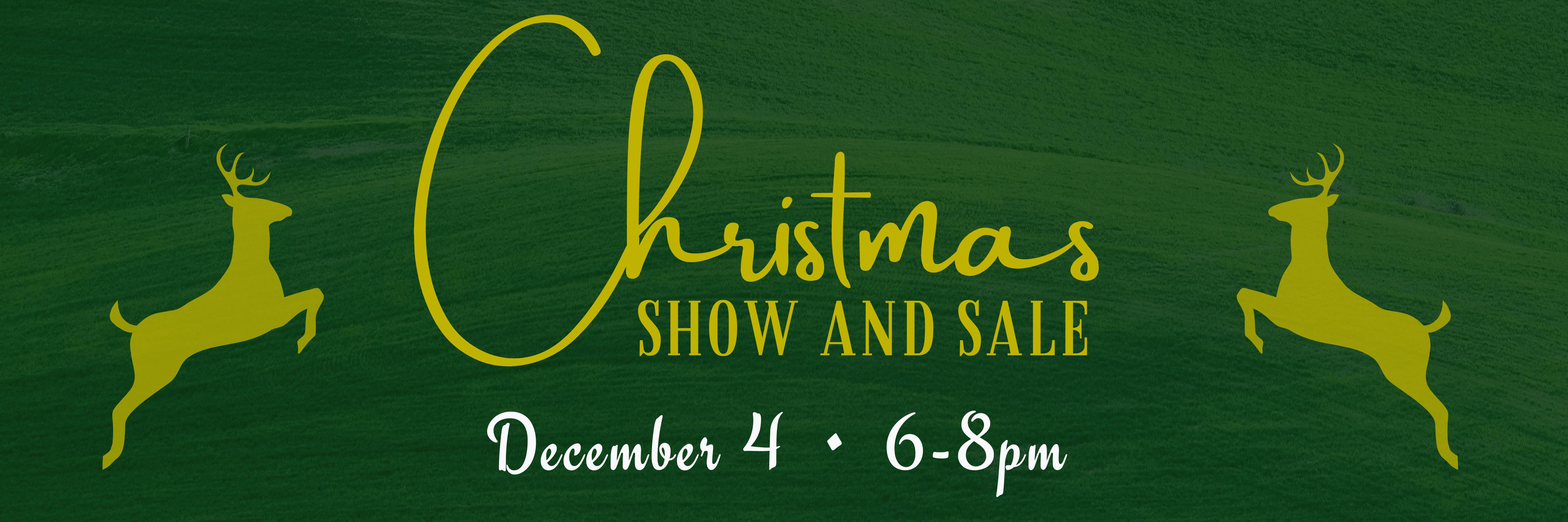 christmas show and sale