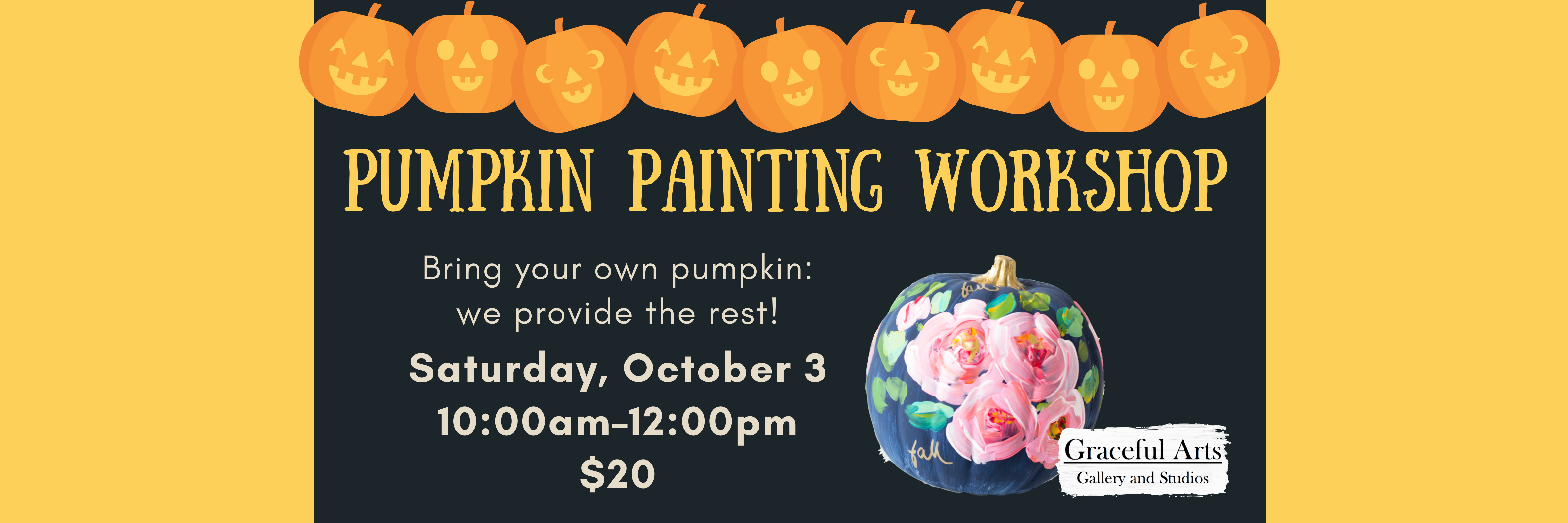 Pumpkin Painting Workshop
